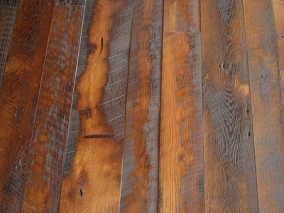 What can you expect to see in the grain of your flooring?