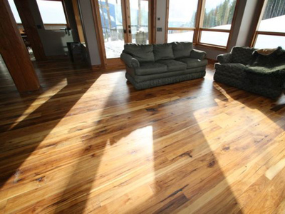 Reclaimed Hickory - Waterlox Tung Oil Satin