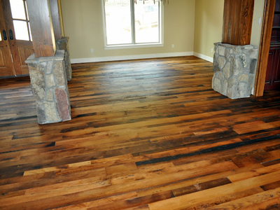 Reclaimed Oak Distressed with Rubio Pure 2C Oil