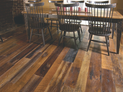 Reclaimed Oak Old Original with Oil Sealer & Satin Urethane