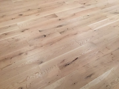 New White Oak Live Sawn Unfinished