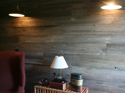 Reclaimed Weathered Barn Siding - Silver/Grey