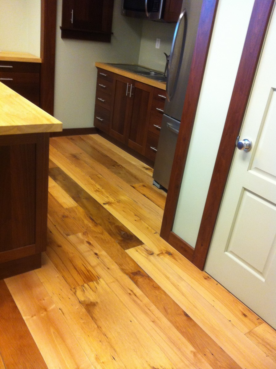 Reclaimed Maple Beech Oil Sealer Satin Urethane