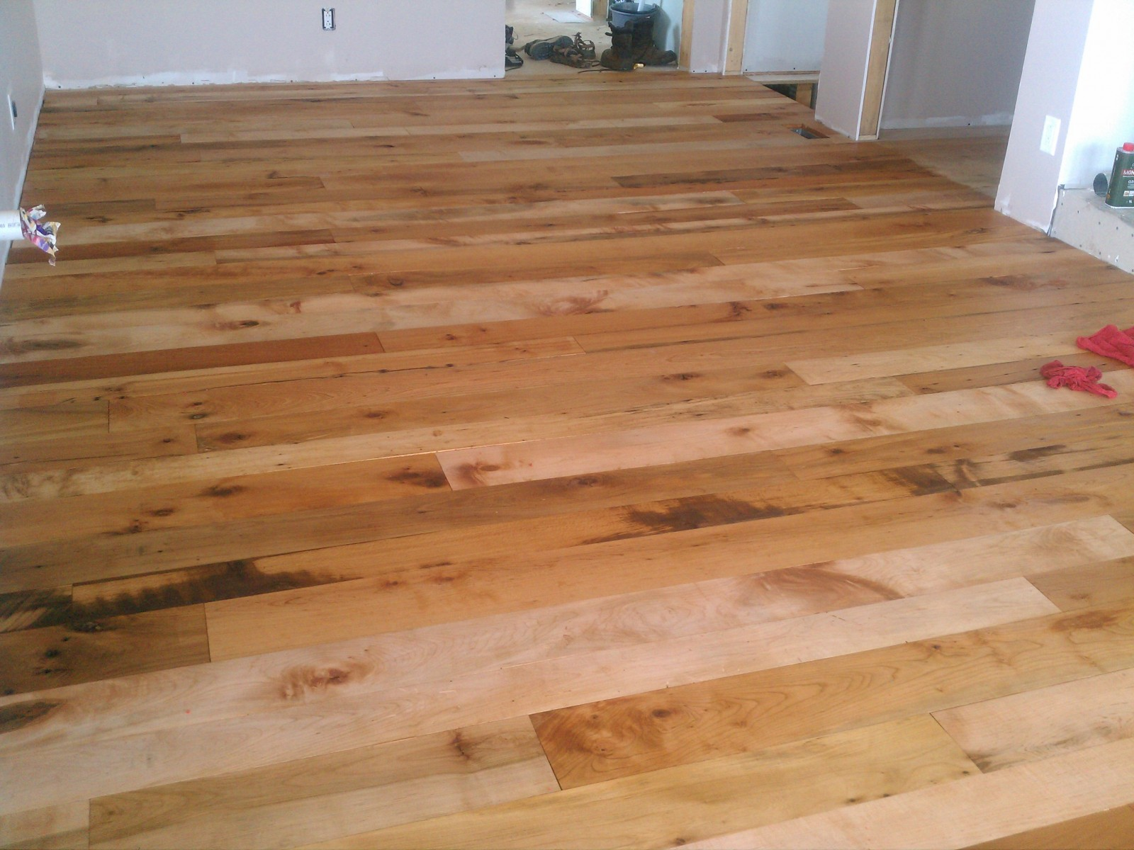Reclaimed Maple Beech Rubio Pure 2c Oil