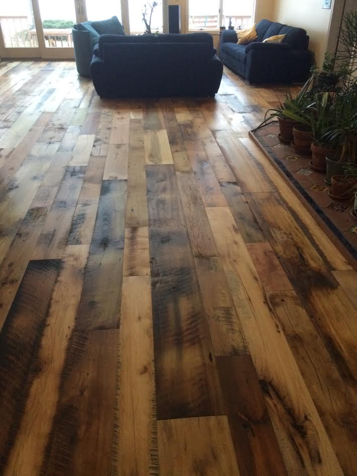 Reclaimed Barnwood Plank Uv Rubio Pure Oil