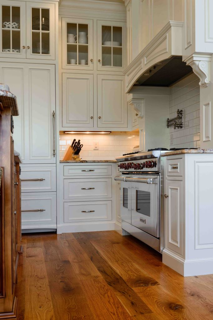White Oak Kitchen Cabinets Woods