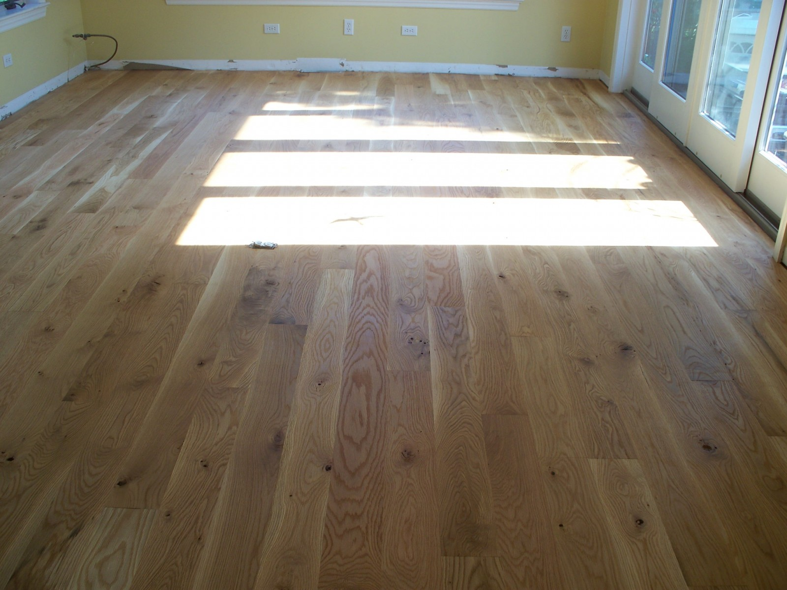 New White Oak Character Rubio Pure Oil